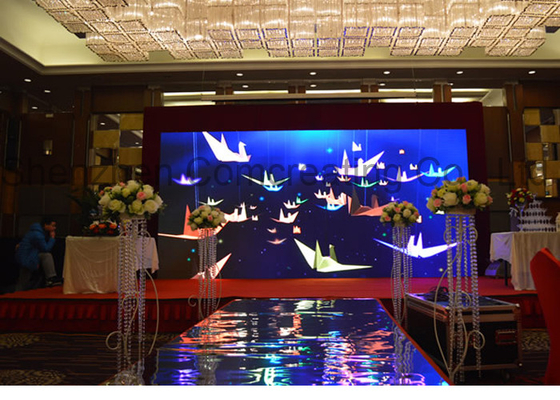 Cina HD Mobile SMD Rental LED Display 3 in 1 Aluminium Die - casting 111111 Pixel / m2 pemasok