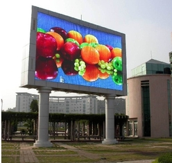 Cina Full Color IP65 High Brightness Led Display Untuk Roadsides Billboard pemasok