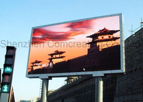 Cina P4 Smd Full Color Outdoor Advertising Led Tampilan High Definition Rgb 1/8 Scan 1R1G1B pemasok